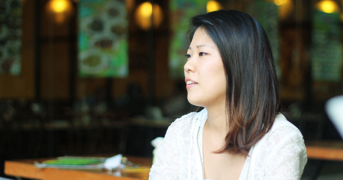 留学体験談|鈴木あかねさんインタビューの様子1|フィリピン留学・セブ留学でビジネス英語を学ぶなら語学学校ブライチャー