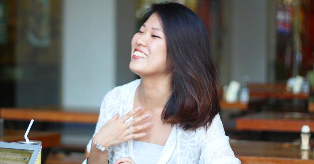 留学体験談|鈴木あかねさんインタビューの様子3|フィリピン留学・セブ留学でビジネス英語を学ぶなら語学学校ブライチャー