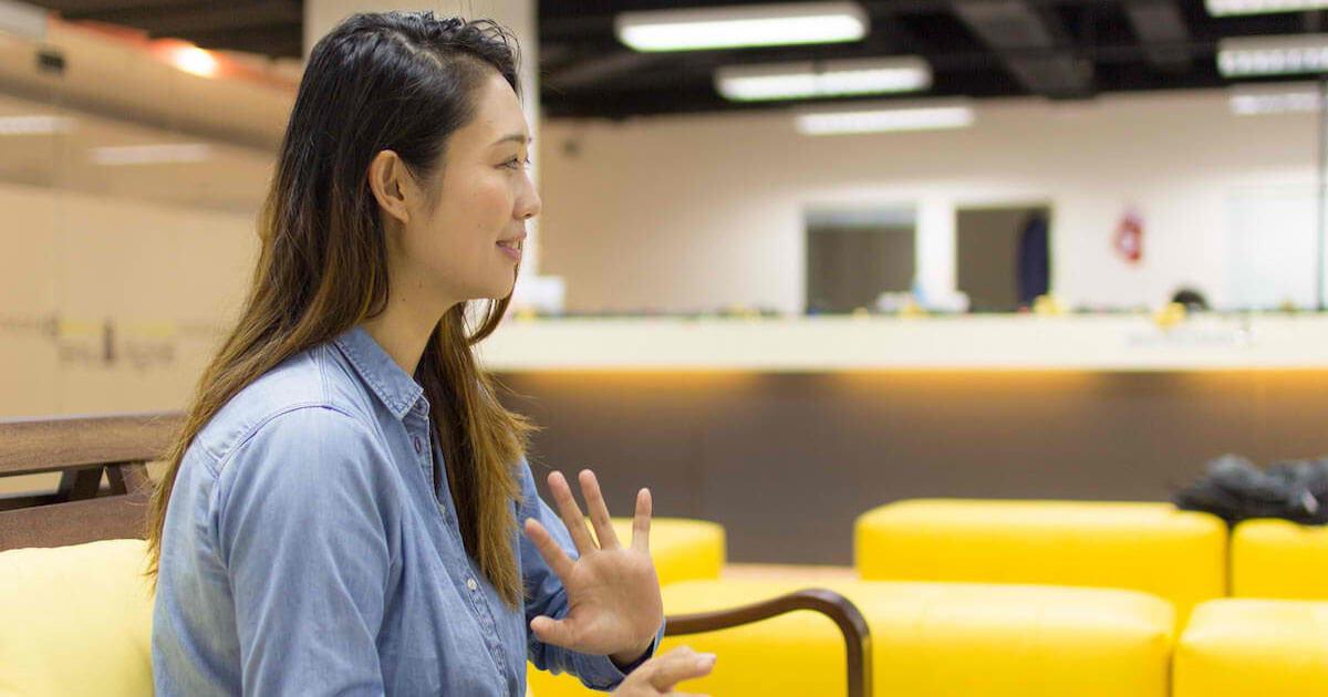 フィリピンセブ留学のブライチャー留学体験談|鎌田さんのインタビューの様子5|「率直に言えばいい」は間違いだった。洗練された英語を学ぶ