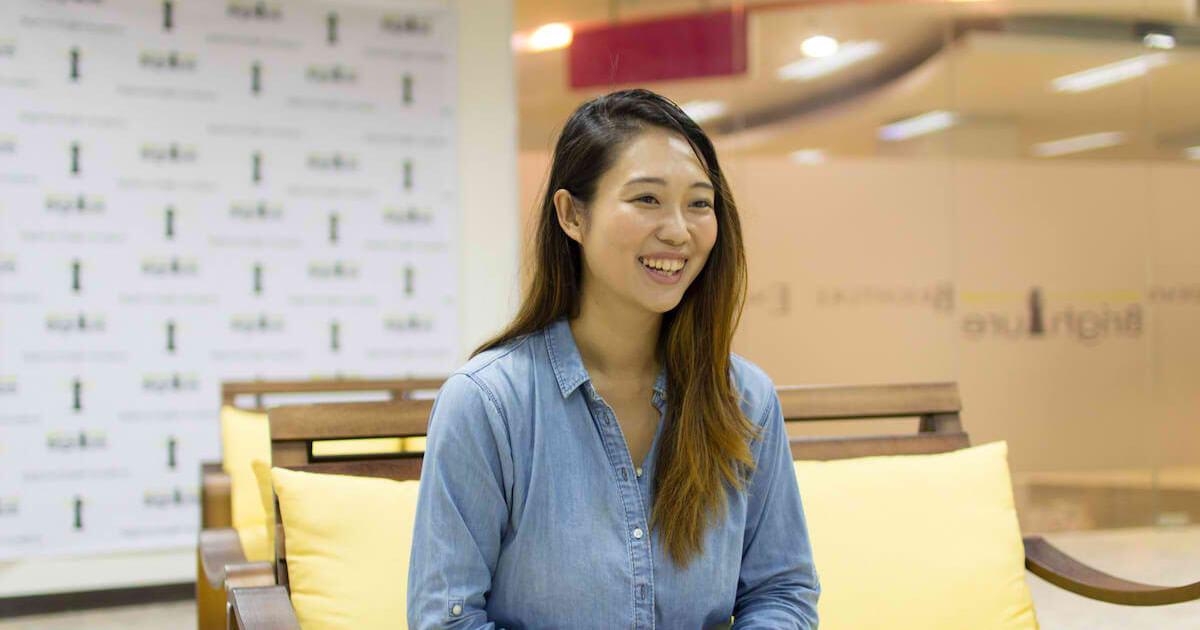 フィリピンセブ留学のブライチャー留学体験談|鎌田さんのインタビューの様子6|満足度を星5つで表すと…?