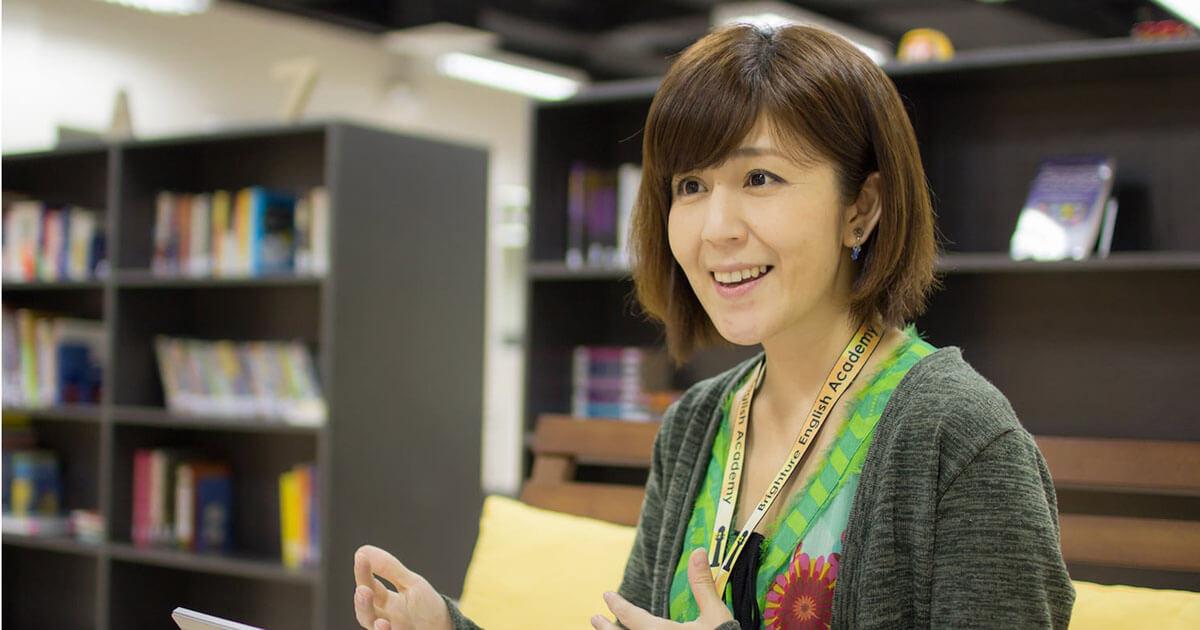 フィリピンセブ留学のブライチャー留学体験談 金光さんのインタビューの様子3 ブライチャーの満足度は?