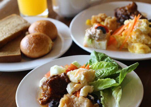 BIG HOTELの朝食ビュッフェ